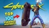 TOP 100 Funniest Fails In Cyberpunk 2077 #1