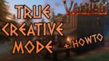 TRUE CREATIVE MODE   Valheim New Creative MOD   Build Anything, Fly Anywhere, TP to Others, and More