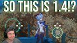The Windblume Festival in a Nutshell: Genshin Impact 1.4