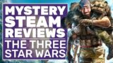 Three Star Wars | Mystery Steam Reviews (Video Games With Metacritic Scores of 60 Or Lower)