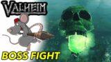 VALHEIM – 4 Boss Fights! Elkthyr, Elder God, Bone Mass And Moder!