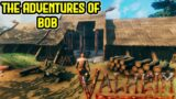 VALHEIM Let's Play | NEW Viking RPG Survival Building Game | Part 1 The Adventures of Bob