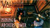 VALHEIM MULTIPLAYER ||  MINING & ARCHERY TOWER || EP 2 [QUEENBEE]