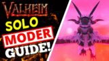 Valheim – How To Solo Moder – EASY Moder Boss Guide!