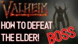 Valheim   How to Defeat, KILL The Second BOSS, The ELDER!