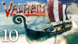 Valheim Part 10 – OCEAN RETREAT! (Viking Survival)