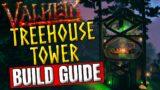 Valheim – SPIRAL TREEHOUSE / Alchemy Tower – BUILD GUIDE