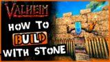 Valheim Stone Building   EASY Valheim Castle Build !