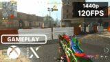 WARZONE | Xbox Series X Gameplay | 1440p 120FPS