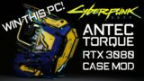 WIN this CRAZY Cyberpunk 2077 CUSTOM WATER COOLED GAMING PC BUILD RTX 3080 Antec Torque Case Mod