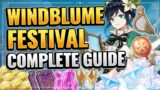 Windblume Festival Complete Guide (DON'T MISS PRIMOGEMS!) Genshin Impact New Event Tips and Tricks