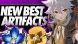 1.5 NEW ARTIFACTS! These Heroes Get EVEN BETTER!! | Genshin Impact