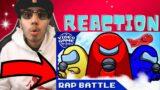 AN AMONG US AIRSHIP RAP BATTLE | Video Game Rap Battle | Cam Steady [Among Us Song] | Reaction!