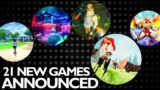 21 New Games Nintendo Switch ANNOUNCED Release Week 1 April 2021   Nintendo Direct   Switch Pro News