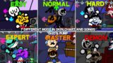 7 Different Mods In Skin,Chart and Songs | South – Friday Night Funkin Mod Showcase (Difficulty)