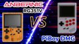 Anbernic Rg351V VS PiBoy DMG Handheld Video Game Console Comparison Review – RetroPie Guy VS Review