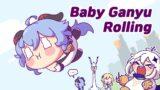 Baby Ganyu rolling down like a little ball – GENSHIN IMPACT