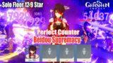 Beidou Supremacy – Beidou Solo Floor 12 9 Star – Perfect Counter Genshin Impact