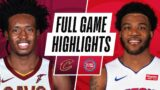 CAVALIERS at PISTONS | FULL GAME HIGHLIGHTS | April 19, 2021