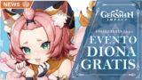 CONSIGUE A DIONA GRATIS EN ESTE EVENTO DEL PARCHE 1.5.!!!   Genshin Impact