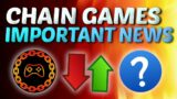 Chain Games Bad News & Good News Chain Games Price What will happen next Explained