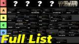 Complete S-F Guns Tier List – Escape From Tarkov