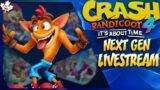 Crash Bandicoot 4 NEXT GEN UPGRADE – PS5 LIVESTREAM