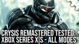 Crysis Remastered Xbox Series X S Patch – The 60FPS Dream Fulfilled? All Modes Tested!