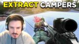 DEALING WITH EXTRACT CAMPERS! Escape From Tarkov… w/ Smithy