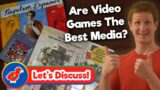 (Discussion) Are Video Games the Best Form of Media? – Retro Bird