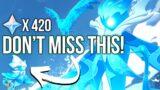 Don't Miss These Wishful Drops Event INSANE REWARDS!   Genshin Impact