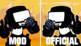 FRIDAY NIGHT FUNKIN UGH MOD vs OFFICIAL [COMPARISON]