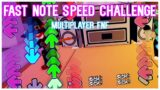 Fast Note Speed Challenge in ROBLOX Friday Night Funkin