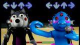 FnF PIGGY BOOK 2 MOD | WILLOW vs Kraxicorde | Friday Night Funkin Piggy Battles | A PIGGY ANIMATION