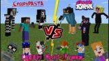 Friday Night Funkin [FNF] VS Creepypasta Legends (Creepy Night Funkin) Minecraft PE