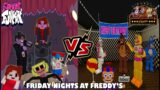 Friday Night Funkin [FNF] VS Five Nights at Freddy's [FNAF] (Friday Nights at Freddy's) Minecraft PE