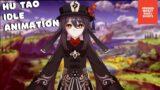 Genshin Impact – Hu Tao Idle Animation #1