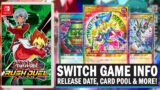 HUGE NEWS! Yu-Gi-Oh! Rush Duel Nintendo Switch Game RELEASE DATE, CARD POOL & EXCLUSIVE CARDS!