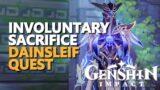 Involuntary Sacrifice Genshin Impact Dainsleif
