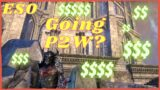 Is P2W Coming to The Elder Scrolls Online