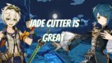 Jade Cutter Thoughts So Far With Bennet and Xingqiu   Genshin Impact