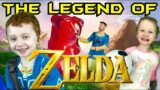 LEGEND OF ZELDA! Kids Workout, Fitness, PE! Real-Life VIDEO GAME! FUN Kids Workout Video, Level Up!