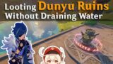 Looting Dunyu Without Draining Water | Genshin Impact