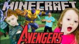 MINECRAFT AVENGERS! Kid's Workout, Fitness, PE! Real-Life VIDEO GAME! Super FUN Kids Workout Video!