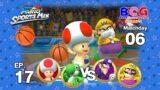 Mario Sports Mix Basketball EP 17 Match 06 Toad+Yoshi VS Waluigi+Wario