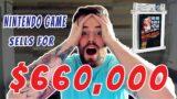 Nintendo Game Sells for $660,000! NES Super Mario Bros | VIDEO GAME MARKET ANALYSIS & RECORD SALE