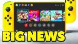 Nintendo Switch BIG NEWS Announced…