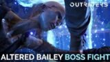 Outriders – Altered Bailey Boss Fight