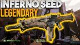 Outriders BEST GUN? Legendary Inferno Seed Assault Rifle! Epic for Pyromancer & Technomancer