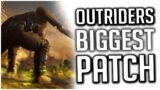 Outriders BIGGEST PATCH Fixes a LOT of Issues in the Game!